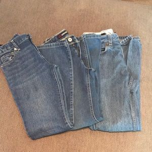 3 pair girls jeans size 10
